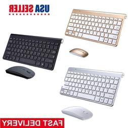 MINI 2.4G Wireless Desktop Keyboard and Mouse Combo Cordless