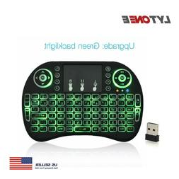 Mini 2.4GHz Wireless Backlight Keyboard TouchPad for TV Box