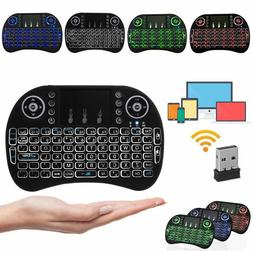 Mini 3 Backlit i8 2.4GHz Wireless Keyboard for Respberry LG