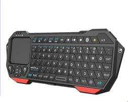 Mini Bluetooth Keyboard with Touchpad for TV Compatible with