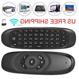Mini C120 Remote Control Fly Air Mouse +2 4GHz Wireless Keyb