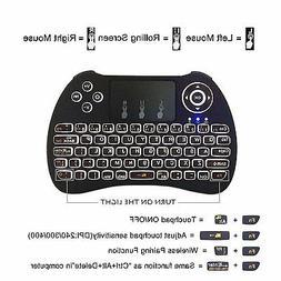 mini i8 2.4GHZ mini Wireless Keyboard Touchpad for Smart TV