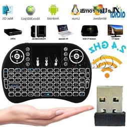 Mini i8 Backlight Wireless Keyboard 2.4GHz Keyboard Remote C