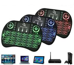 Mini i8 QWERTY Wireless Keyboard Air Mouse Touchpad Handheld