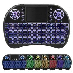 2.4GHz Wireless Mini Keyboard Touchpad Air Remote For PC,And