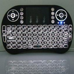 Mini Keyboard  I8 English Russian Backlight Wireless 2 4ghz