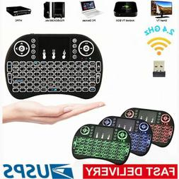 Mini Keyboard Rii i8 Air Wireless Mouse Keypad Remote Contro