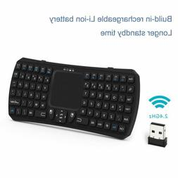 Mini Keyboard,Updated Wireless Mini Keyboard with Touchpad M