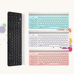 FD Mini Wireless BT Keyboard with Holder for Tablet Smart Ph