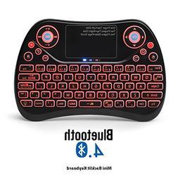 Mini Wireless Keyboard-Bluetooth Backlit Mini Keyboard with