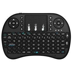 Mini Wireless Keyboard for PC gamepad Android TV Raspberry P