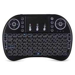 Mini wireless keyboard and mouse set USB wireless backlit ke