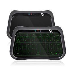 ANEWISH 2.4Ghz Mini Wireless Keyboard Full Screen Mouse Touc