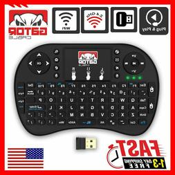 Mini Wireless Keyboard Remote Control Touchpad 2.4GHz Smart
