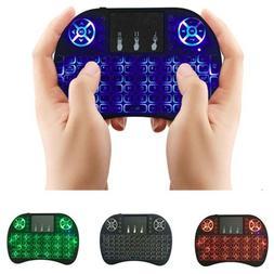 Mini Wireless Keyboard Remote Control Touchpad 2.4GHz Smart