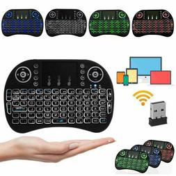Mini Wireless Keyboard Remote Touchpad 2.4GHz Smart TV Andro