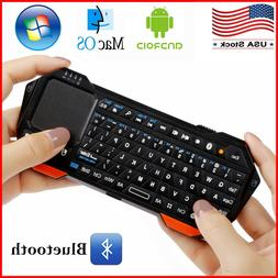 Mini Wireless Keyboard Touchpad Mouse 3 in1 iOS Android Wind