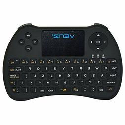 VENZ 2.4GHz Mini Wireless Keyboard with Touchpad Mouse and R