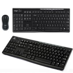 Logitech MK270 2.4GHz Wireless Desktop Keyboard and Mouse Co