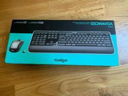 Logitech MK520 Wireless Keyboard and Mouse Combo Bundle Bran