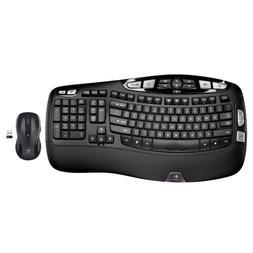 Logitech MK550 Wireless Wave Combo K350 Keyboard and M510 Mo
