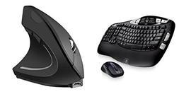 Logitech MK550 Wireless Wave Keyboard and Mouse Combo — Lo
