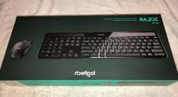 Logitech MK750 Wireless Solar Keyboard and Wireless Marathon