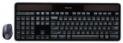 Logitech MK750 Wireless Solar Keyboard & Marathon Mouse Comb