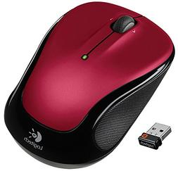 Mouse Wireless, Small Portable Scrolling Red For Laptop Wire