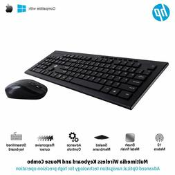 HP Multimedia Slim Wireless Keyboard And Mouse Combo 4SC12PA