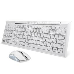 Rapoo 2.4G Multimedia Wireless Keyboard and Mouse 2-in-1 Com