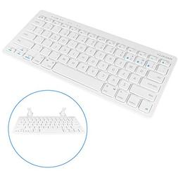 Macally Multisync Compact Wireless Bluetooth Keyboard with B