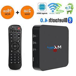 RBSCH MX Pro+ TV Box Android 7.1 2GB Ram 16GB ROM Amlogic S9