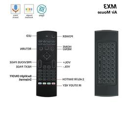 MX3 Wireless Remote Control Keyboard ENG/RUS Air Mouse 2.4G
