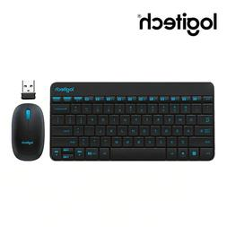 Logitech Nano Wireless Keyboard and Mouse Combo for laptop d