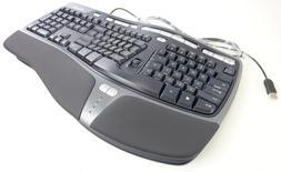 Microsoft Natural Ergonomic 4000 v1.0 Model 1048 Wired Keybo