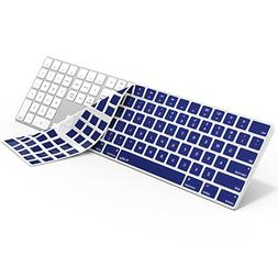 Kuzy NAVY BLUE Keyboard Cover for Apple Magic Keyboard with