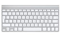 New Apple A1314 Wireless Keyboard - Silver MC184LL/B