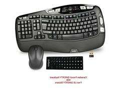 NEW Logitech K350 Wireless Multimedia Keyboard + M325 Mouse