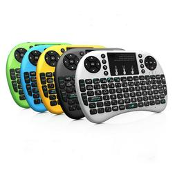 New Rii Mini i8+ USB Wireless Backlight Keyboard with Touchp