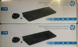NEW HP Pavilion Wireless Keyboard and Mouse 800 | Black | 4C