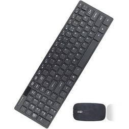 NEW Slim 2.4G  Wireless Keyboard and Cordless Optical Mouse