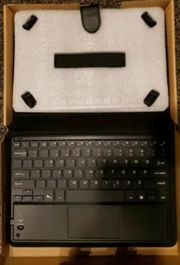 NIB Jetech 10 Inch Tablet Keyboard Folio Universal Case Cove