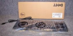 Dell OEM Genuine Wired USB 104-key Black Keyboard 5P02F KB40