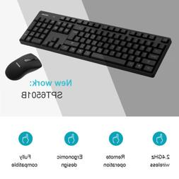 PHILIPS OfficeTec Wireless Keyboard And Mouse Combo New