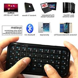 Portable Mini 3.0 Wireless Keyboard, Handheld Remote Control