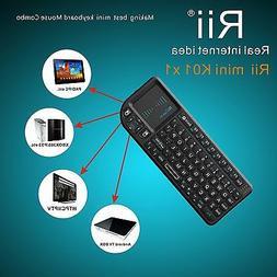Portable Rii X1 2.4G Mini Wireless Keyboard for Kodi Raspber