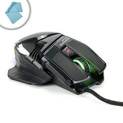 PrecisionPRO Optical 6-Button LED Gaming Mouse with Adjustab