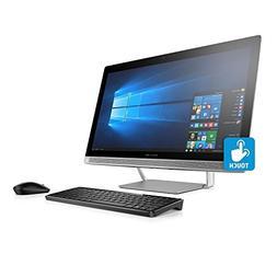 "Premium HP Pavilion FHD IPS 24"" Touchscreen All-in-One Deskt"