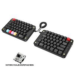 Koolertron Programmable Split Mechanical Keyboard with OEM G